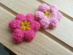 ぷっくり花(モリーの花)の編み方