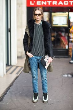 Street chic à Paris