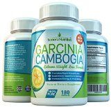 80% HCA Garcinia Cambogia Extreme Weight Loss Formula - 180 Capsules - 1400 mg/Serving - All Natural Appetite Suppressant and Weight Loss Supplement by Sonora Nutrition