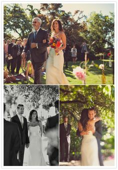 Parsons Garden Outdoor Wedding Ceremony Picnic Style