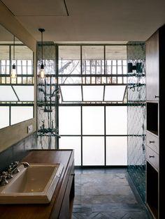 Master Bathroom - Karjat - Glazed Tiles - Riparian House