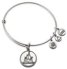 Walt Disney World Castle Charm Bracelet by Alex and Ani thestylecure.com