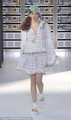 Chanel creative director Karl Lagerfeld proved he has a knack for designing what women wan...