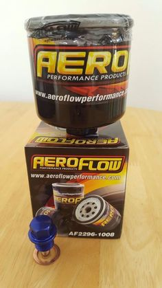 Aeroflow Oil Filter for Mitsubishi Evo 1-9 + Blue Magnetic Sump Plug  in Vehicle Parts & Accessories, Car Tuning & Styling, Other Car Tuning & Styling | eBay!