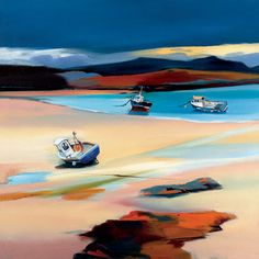 Peaceful Shores by Pam Carter