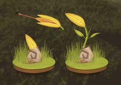 ArtStation - Carnivorous plant concept II, Agith P (VISJON)
