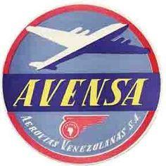Avensa aerolinea de la Venezuela de ayer