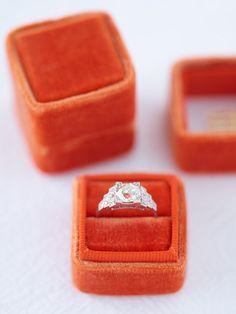 Mrs. Box. Perfect ring box. The Pomp