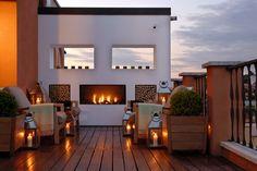 rooftop terrace -