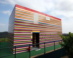 British TV personality James May loves Legos so much so that he built an entire house from them -- and promised to live in it. The two-story house in Dorking, U.K. was constructed using more than 3 million Legos and has a working Lego toilet and Lego furniture. More than 1,200 people worked to construct May's very own Legoland.