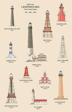 lighthouses-of-the-gulf-coast-j-a-tilley.jpg 577×900 ピクセル