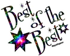 Best Of The Best Glitter Graphic Comment