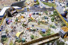 amusement park diorama, via Flickr.