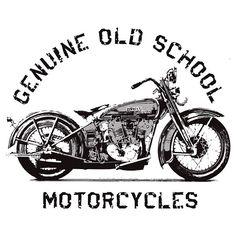 Old School Motorcycle by ~mattharkinz on deviantART