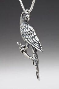 Macaw Parrot Charm