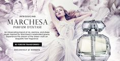 Marchesa is probably my favorite designer brand. So excited that they developed a fragrance!