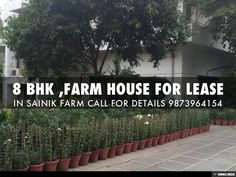 8 BHK ,FARM HOUSE FOR LEASE by VIDHAN PROPERTIES ( A REAL ESTATE & HOTEL CONSULTANT ) via slideshare