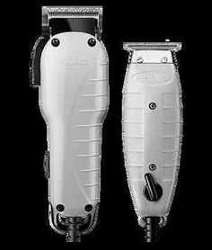 9244169f7 Andis Professional Barber Combo Envy Clipper, T-Outliner Trimmer #66325 USA