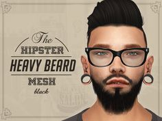 big beards for sims 4 - Google Search