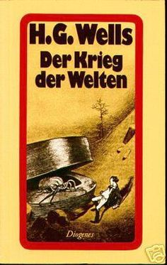 War of the Worlds - Diogenes Verlag AG, Germany, 1974