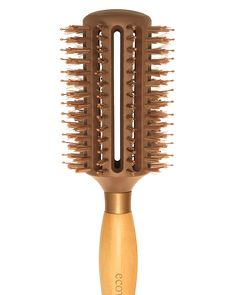 ecoTOOLS Full Volume Styler Hair Brush.  Dries 20% faster for less damage.  The Full Volume Styler creates gorgeous volume and style. while cruelty bristles distribute hair's moisturizers for the ultimate shine.