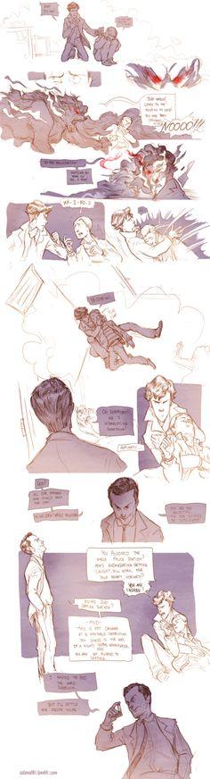 Teen Sherlock Bluebells Experiment Pt4 by DrSlug on DeviantArt