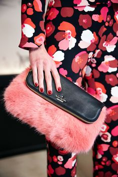 #behindthecurtain kate spade new york fall 2015