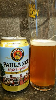 Paulaner Hefe Weissbier. Watch the video beer review here www.youtube.com/realaleguide #CraftBeer #RealAle #Ale #Beer #BeerPorn #Paulaner #PaulanerHefeWeissbier #Weissbier #GermanCraftBeer #GermanBeer