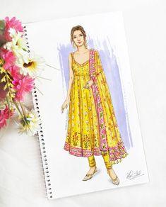#kritisanon #celebstyle #bollywood #illustration #style #fashion #arjunpatiala Dress Design Drawing, Dress Design Sketches, Fashion Design Sketchbook, Dress Drawing, Fashion Design Drawings, Dress Illustration, Fashion Illustration Dresses, Fashion Drawing Dresses, Drawing Fashion