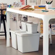 pantry pull out - Search - IKEA Can Storage, Pantry Storage, Small Storage, Storage Containers, Dorm Storage, Storage Bins, Kitchen Storage, Storage Solutions, Polypropylene Plastic
