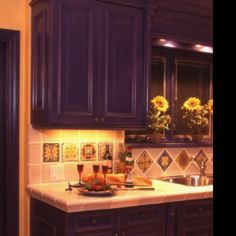 My Kitchen Cabinets Are This Color.