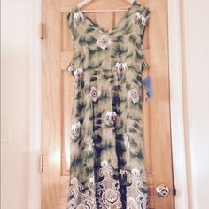 Jane Ashley Green Summer Dress