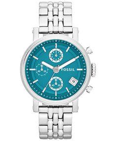 Fossil Women's Original Boyfriend Stainless Steel Bracelet Watch 38mm ES3571 - Women's Watches - Jewelry & Watches - Macy's