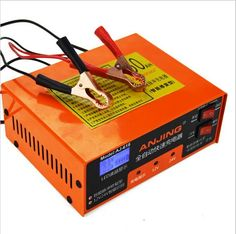 >> Click to Buy << 2017 Car Battery Charger Repair Smart Wrist Charger Lead Acid Battery Charger aj-618 orange #Affiliate