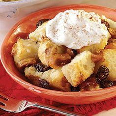 Wine-Soaked Fig Bread Pudding