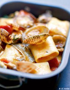 Pasta della Vigilia (pâtes du 24 décembre) pour 4 personnes - Recettes Elle à Table - Elle à Table
