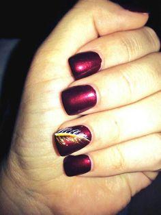 Simple burgundy nails with white and gold nail art. Simple burgundy nails with white and gold nail art. Gold Nail Art, Gold Nails, Matte Nails, Henna Designs, Nail Art Designs, Perfect Nails, Gorgeous Nails, Swag Nails, Fun Nails