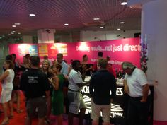 The stand fills up at the late night lock-in Cannes, Popular, Night, Search, Searching, Popular Pins, Most Popular
