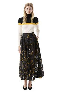 Evans Lace Skirt - Ganni