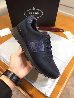 Prada mens casual sneakers shoes,普拉达男士休闲鞋,please contact whatsapp&Mobile&Wechat:008613580441057,SKYPE:charlesguo008,for more designs and details. Welcome the wholesaler and reseller from global.