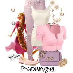 """Rapunzel - Disney's Tangled"" by rubytyra on Polyvore"