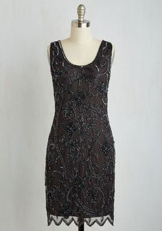 1920s beaded cocktail dress