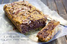 Gooey Chocolate Chip Pumpkin Bread  #AGirlWorthSaving