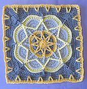 Ravelry: Spiro Star pattern by Helen Shrimpton.. Free pattern!