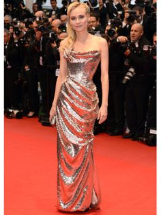 Diane Kruger wearing Vivienne Westwood Couture