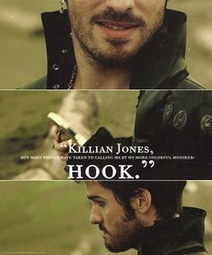 When will people understand that Killian Jones is not evil. Killian is a man who made a few mistakes, and who is now haunted by them and wants them to be gone...by avenging the death of a loved one. And, newsflash, if you have seen the last episode of Season Two, then you would know he's not trying to get revenge anymore.