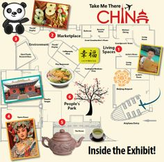 Here's a look inside the Take Me There:® China exhibit! What's the first area your family will explore?