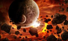 Falling into a long tradition of revamping old doomsday predictions, an online religious group claims that the now-deceased preacher, Harold Camping, was right, and his prophecies forecast the end of the world. Weird Science, Science News, Doomsday Predictions, Planet Earth From Space, Unexplained Mysteries, Stephen Hawking, End Of The World, Orange Color, Planets