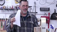 """In the February """"Notes"""" video Sam brings you up to date by responding to recent questions and comments from his woodturning shop in Billings, Montana. Wood Lathe, Wood Turning, I Shop, February, Notes, This Or That Questions, Shopping, Woodturning"""
