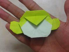 Origami Monkey Head (Carlson Choo) - YouTube